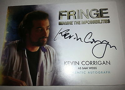 FRINGE SEASONS 1 & 2 AUTOGRAPH/auto A-10 Kevin Corrigan as Sam Weiss