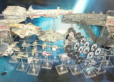 Star Wars X-Wing Miniatures Tantive IV Slave 1 Y-Wing K-Wing Ghost !!  s121