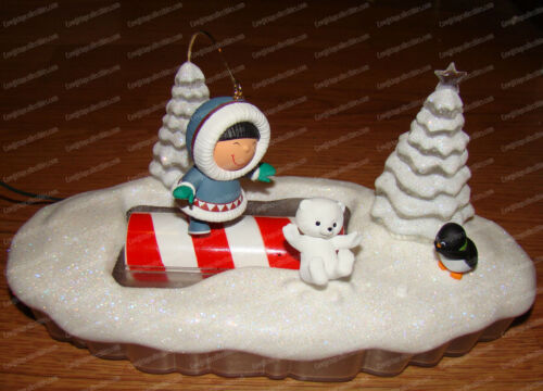 Frosty Friends, Let The Good Times Roll (Hallmark, QFM1065) Includes Magic Cord