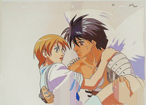 THE VISION OF ESCAFLOWNE MOVIE VAN FANEL / HITOMI ANIME PRODUCTION CEL 5