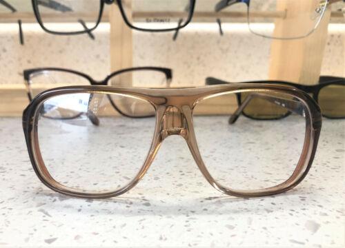 Vintage 1970s  Mens Eye Glass Frames with Original Demo Lenses SIZE:  55-18-140