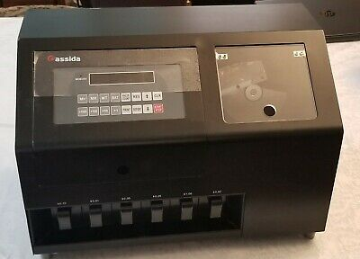 Cassida C900 Heavy Duty High Speed Coin Sorter Counter - Local Pickup Only 11210