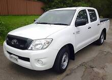 2009 Toyota Hilux SR Dual Cab Ute Rego 8/16, 86000 Kms North Rocks The Hills District Preview