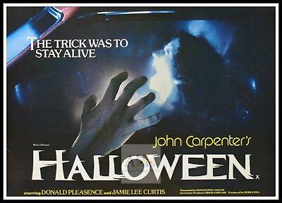 Halloween 7  Horror Movie Posters Classic & Vintage Cinema ()