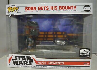 Funko Pop Star Wars Smuggler's Bounty Movie Moment Boba Fett Gets His Bounty