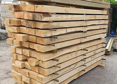 Solid Oak Garden Sleepers / Mini Sleepers 200x100 1.2m  NEW Nationwide Delivery