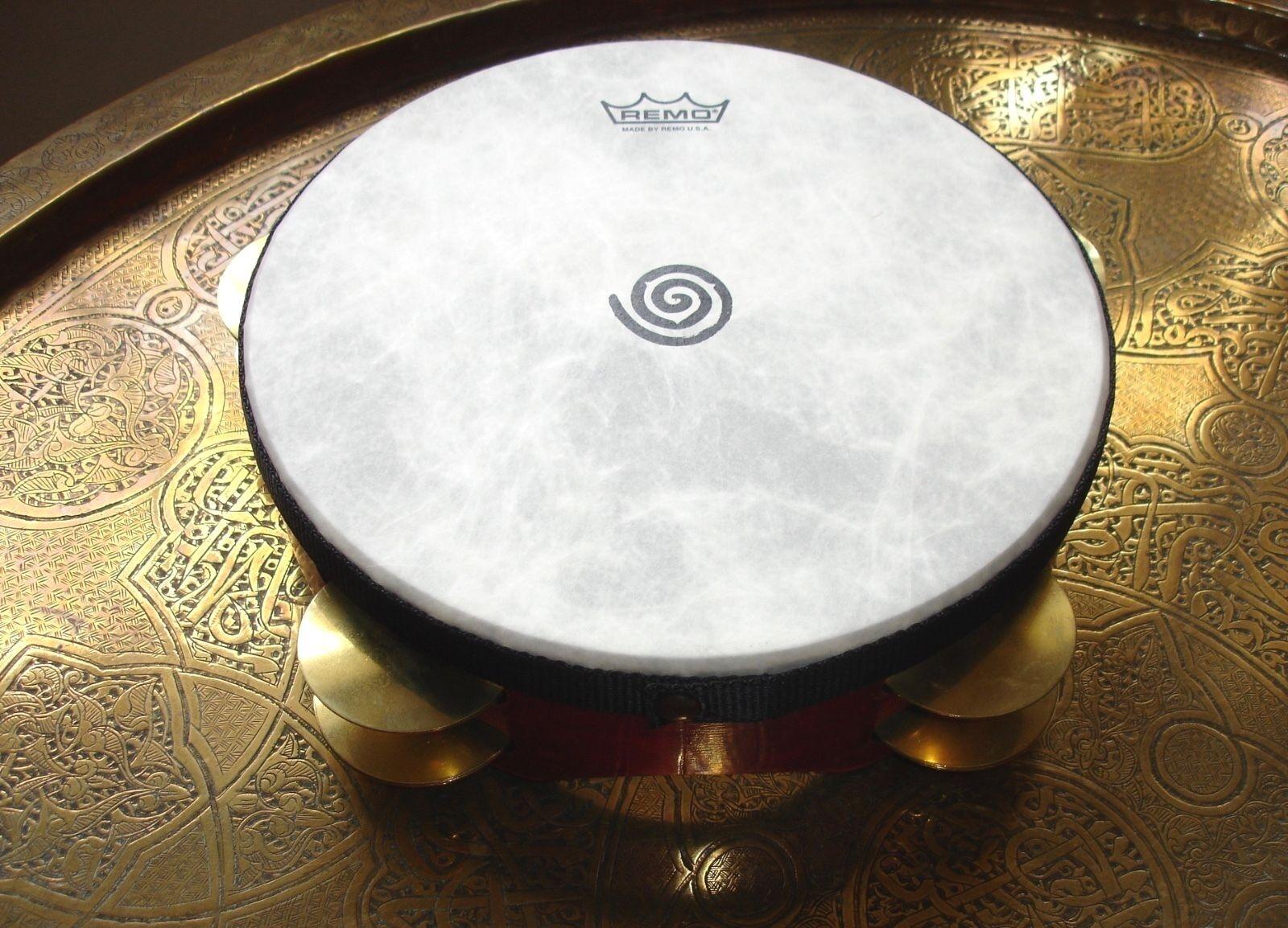 Remo Glen Velez riq req frame hand drum tambourine 3 x 9 ...