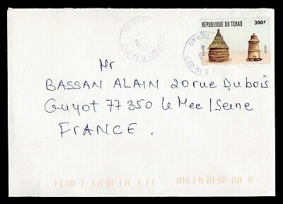 DR WHO 1999 CHAD MOUNDOU TO FRANCE  g16500
