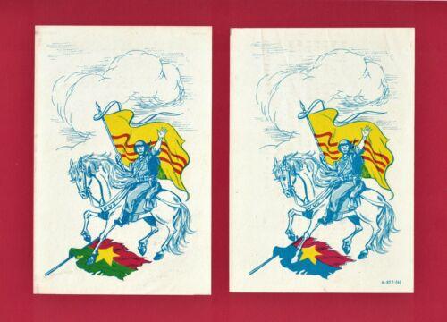 VIETNAM WAR PROPAGANDA ERROR GREEN FLYER (vs. ORIGINAL BLUE) Leaflet 245N-49-67