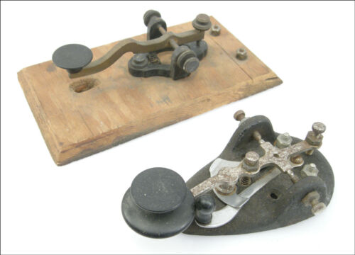 Pair Vintage Ham Radio Keys, McElroy