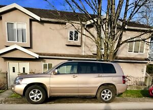 Toyota Highlander 2004. Low KMs. No accidents.