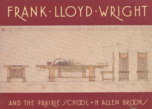 Frank Lloyd Wright Furniture Windows Architecture Decorative Arts / Scarce Book
