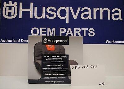 "OEM Husqvarna Riding Lawn Mower Seat Cover 15"" High Fits Mos"