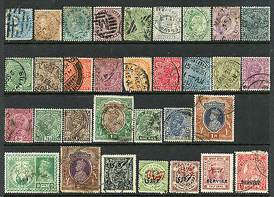 INDIA USED COLLECTION - BRITISH + STATES