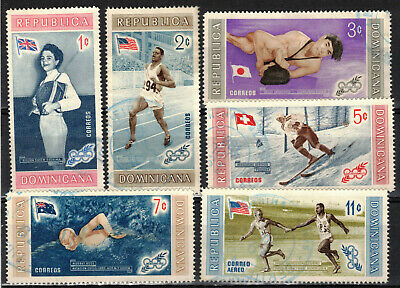 DOMINICAN REPUBLIC Scott 497//588 C106-8 C122-3 MH & Used ## 1 cent start ##