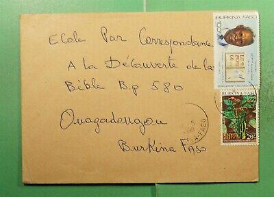 DR WHO 1990 BURKINA FASO TO OUAGADOUGOU  g15589