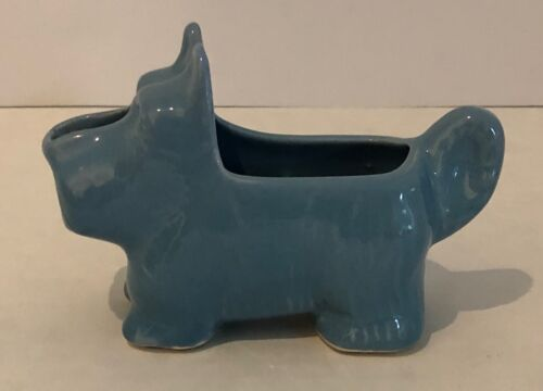 Morton Pottery Vintage Scottie Dog Creamer