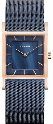 Bering Time Classic Ladies Pink & Blue Milanese Mesh Watch 10426-367-S