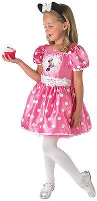 Pink Cupcake Minnie Mouse Kinderkostüm NEU - Mädchen - Kind Cupcake Kostüm