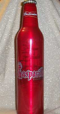 BUDWEISER BEER Aluminum Bottle GASPARILLA PIRATEFEST