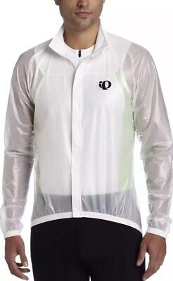 65295c7e93 Pearl Izumi Men's Elite Barrier Clear Jacket - Clear White Sz XL New With  Tags. $. 36.99. Buy It Now