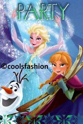 💝 Disney® FROZEN EISKÖNIGIN ELSA 10 Einladungskarten+Umschläge Party Geburtstag