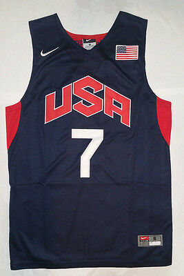 Sale Russell Westbrook Jersey Mens 2012 London Olympics Team Usa Nwt   Blue