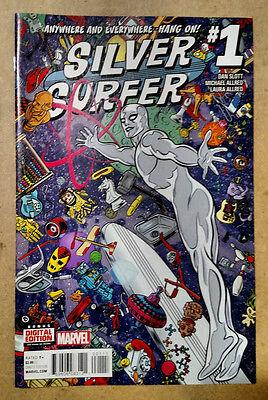 SILVER SURFER #1 1ST PRINTING - (2016) MARVEL COMICS
