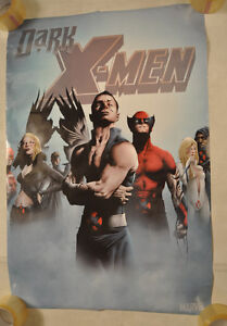 Dark-X-Men-Marvel-Jae-Lee-Original-Promo-Poster-24-x-36