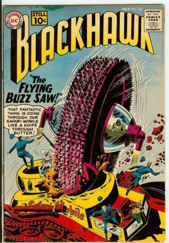 BLACKHAWK #162 5.0