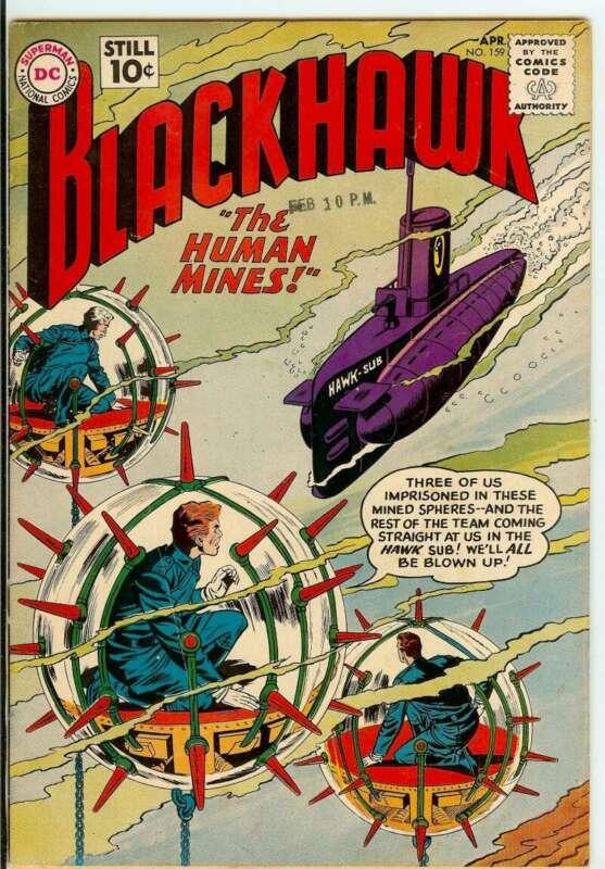 BLACKHAWK #159 4.5