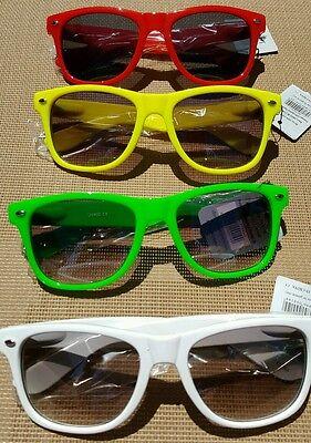 Classic Hinged Sunglasses Red Green Black Yellow Glasses NEW Cheap Retro ](Wayfarer Glasses Cheap)