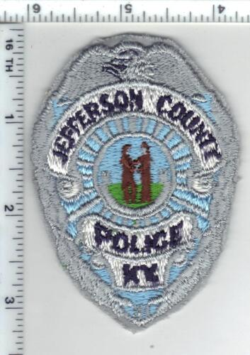 Jefferson County Police (Kentucky) 1st Issue Cap/Hat Patch