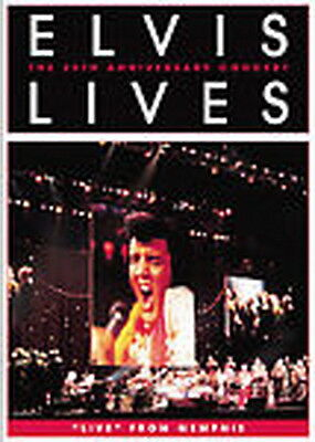 Elvis Lives  The 25Th Anniversary Concert Dvd Live In Memphis 2007 New   Sealed