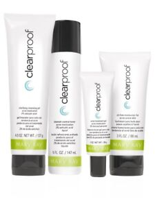 New- 5 Piece Clear Proof Acne System Set
