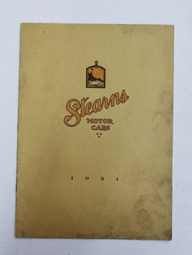 1921 Stearns Motor Cars Sales Catalog