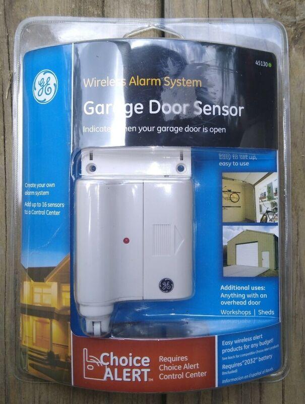 Choice Alert GE Wireless Alarm System Garage Door Sensor General Electric 45130