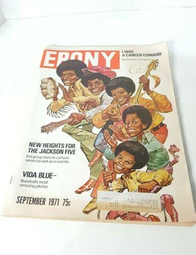 "EBONY Magazine, September 1971, ""The Jackson 5,"" ""Vida Blue,"" and more"
