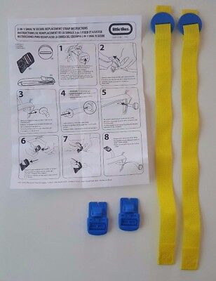 Little Tikes 2-in-1 Snug N Secure Swing Replacement Straps Buckles/Harness