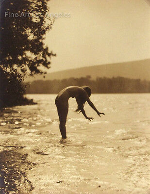 "James Abbe Photo, ""Worshipping the Water"" 1921"