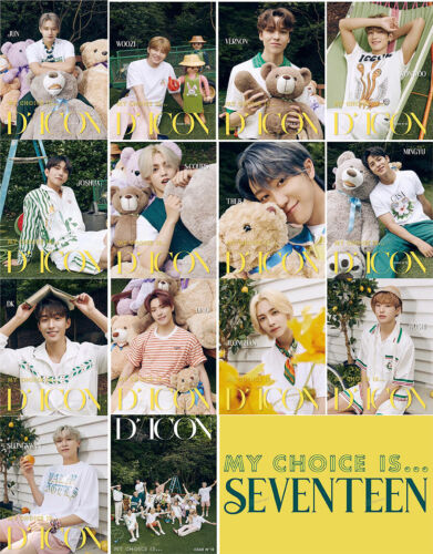 DICON VOL.12 MY CHOICE IS SEVENTEEN SPECIAL/LUXURY EXP SHIP OFFICIAL DISTRIBUTOR