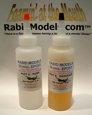 30-minute EPOXY GLUE 8 OZ SET (2x4oz) STRONG industrial-strength adhesive for sale  Shipping to Canada