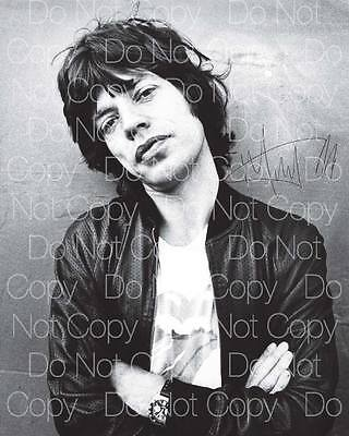 Mick Jagger signed 8X10 photo picture poster autograph RP 3