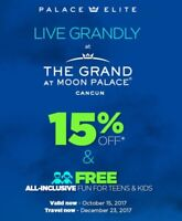 Discount Moon Palace Cancun