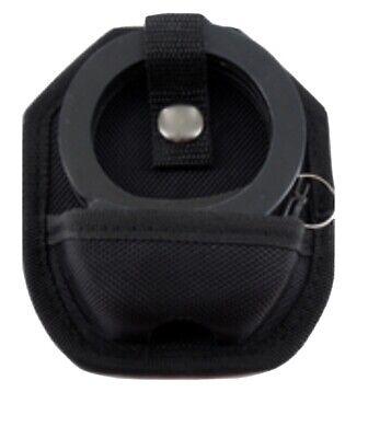 Professional  Heavy Duty Handcuffs and Keys, BlackW Case & Keys Double Lock New
