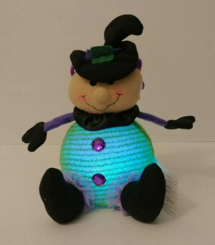 Halloween Witch w/ Changing Colored Lights! 2011 Avon Light-Up Pals Decoration!
