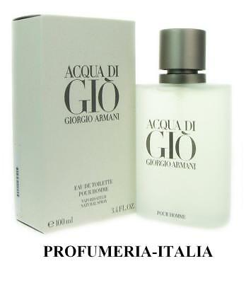ARMANI ACQUA DI GIO' EDT POUR HOMME VAPO NATURAL SPRAY - 100 ml - Acqua Di Gio Edt Spray