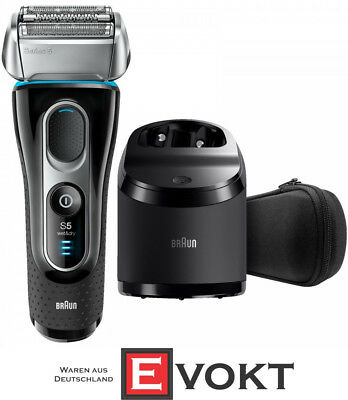 Braun Series 5 5195cc Wet And Dry Men Foil Shaver Black/Silver Travel Genuine