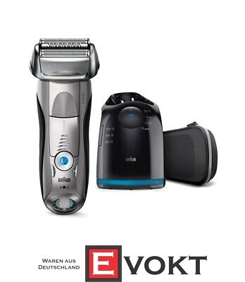 Braun Series 7 Pulsonic 7790cc Shaver System wet & dry silver -