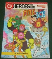 Dc Heroes Fire And Ice Role Playing Module 215 Fearsome Five Adventure - mayfair games inc - ebay.co.uk